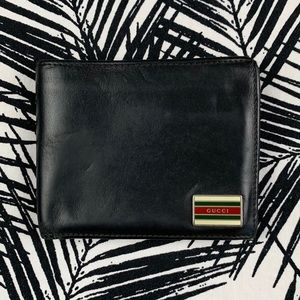 Gucci Bifold Stripe Wallet